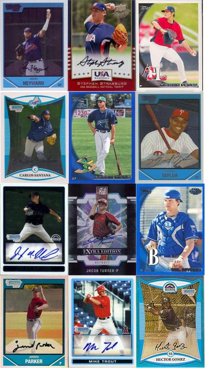 Top 100 Baseball Cards
