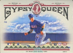 2011 Topps Gypsy Queen Box