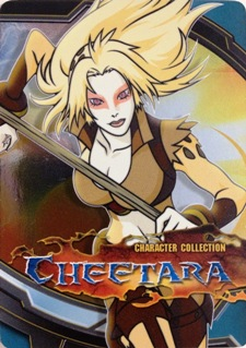 Thundercats Cheetarah on Thundercats Cards Cheetara 59x85 Image