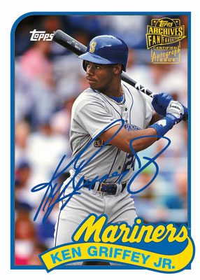 2012 Topps Archives Baseball Complete Autograph Checklist