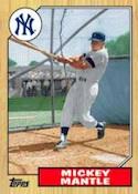 2012 Topps Series 2 Baseball 1987 Topps Minis Insert Card