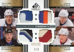 2011-12 SP Game-Used Authentic Fabrics Seven Patch