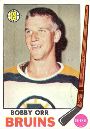 1969-70 Topps Hockey Bobby Orr