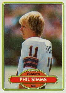 1980 Topps Phil Simms RC