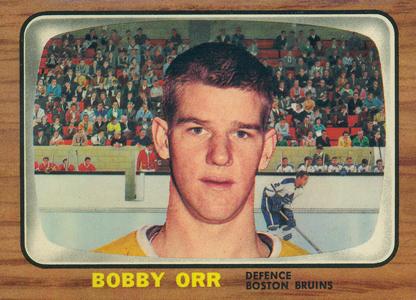 1966-67 Topps Hockey Bobby Orr RC
