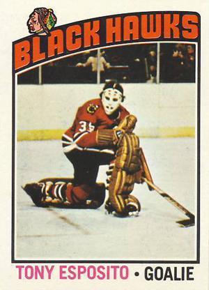 1976-77 Topps Hockey Tony Esposito