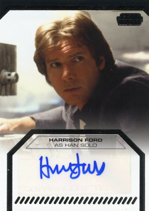Is A Star Wars Galactic Files Harrison Ford Autograph
