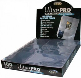 """Large Soccer Photos Ultra Pro Platinum 4 Pocket Pages 3.5/""""x 5/"""" x 15 Pages"""