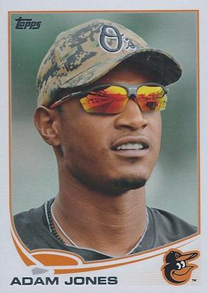 Adam Jones Baseball Card Topps