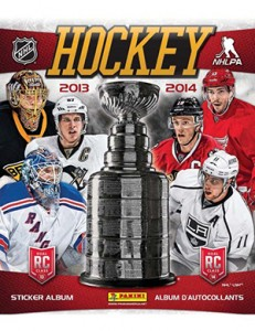 2013-14 Panini NHL Stickers Checklist, Set Info, Boxes, More