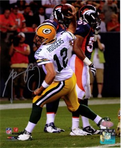 Aaron Rodgers Signed Photo 2