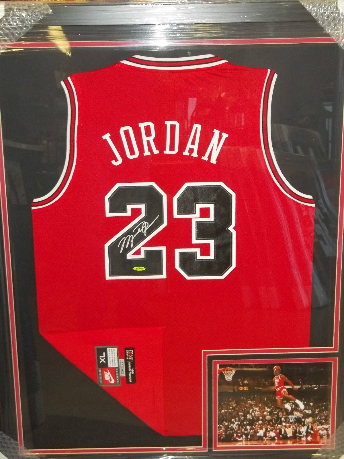 5623b4efcd6c Signed Jersey Pricing  Active Listings for Michael Jordan Signed Jerseys