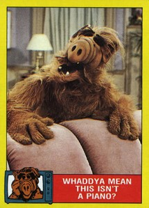 1 Unopened Packet ALF 2ND SERIES TOPPS TRADING CARDS 1987