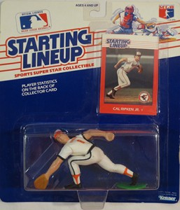 1989  HAROLD BAINES SLU CHICAGO WHITE SOX Kenner Starting Lineup Card