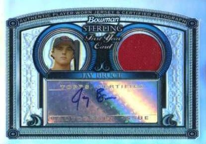 2005 Bowman Sterling Jay Bruce