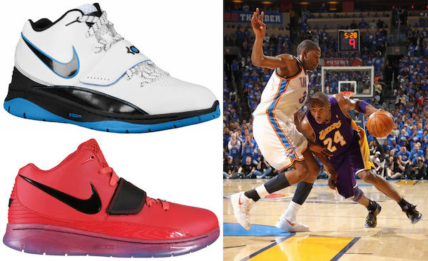 Kevin Durant Shoes Gallery, KD Visual History, Timeline ...