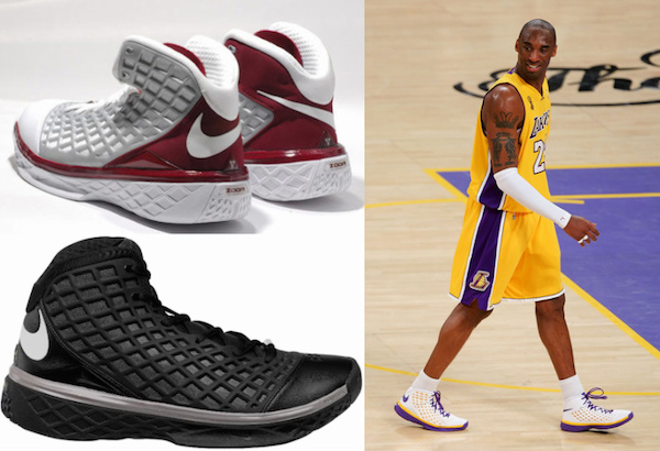 all kobe nike shoes