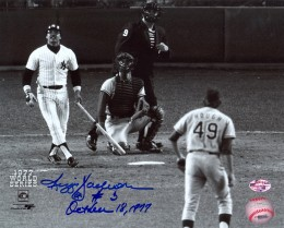 Reggie Jackson Signed Photo 260x209 Image