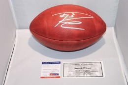 Russell Wilson Signed Football 260x173 Image