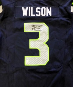 Russell Wilson Signed Jersey