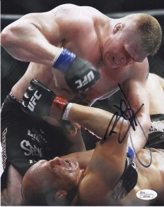 Brock Lesnar signed Photo 237x300 Image