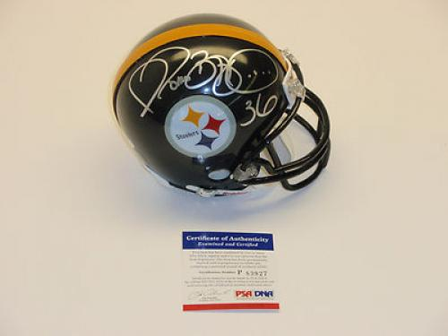 fa61cd30ca2 Jerome Bettis Signed Helmet Pricing