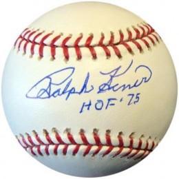Ralph Kiner Signed Baseball