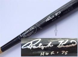 Ralph Kiner Signed Bat
