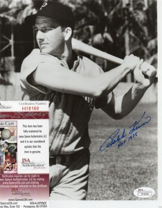 Ralph Kiner Signed Photo 234x300 Image