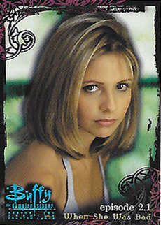 Buffy TVS Season 2 Promo Card  B2-AL1 exclusive binder card