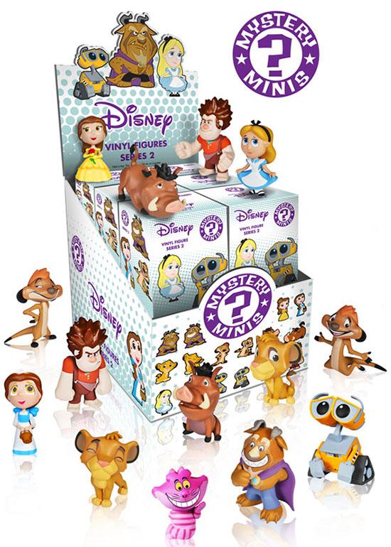 2014 Funko Disney Mystery Minis Series 2 Info Checklist