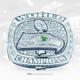 Seattle Seahawks Replica Super Bowl Rings