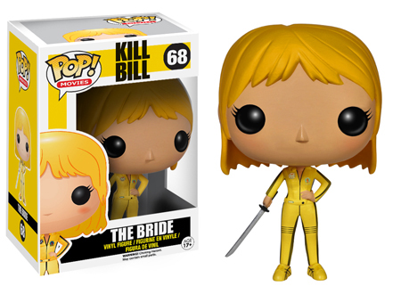 2014 Funko Pop Kill Bill Vinyl Figures Info Checklist
