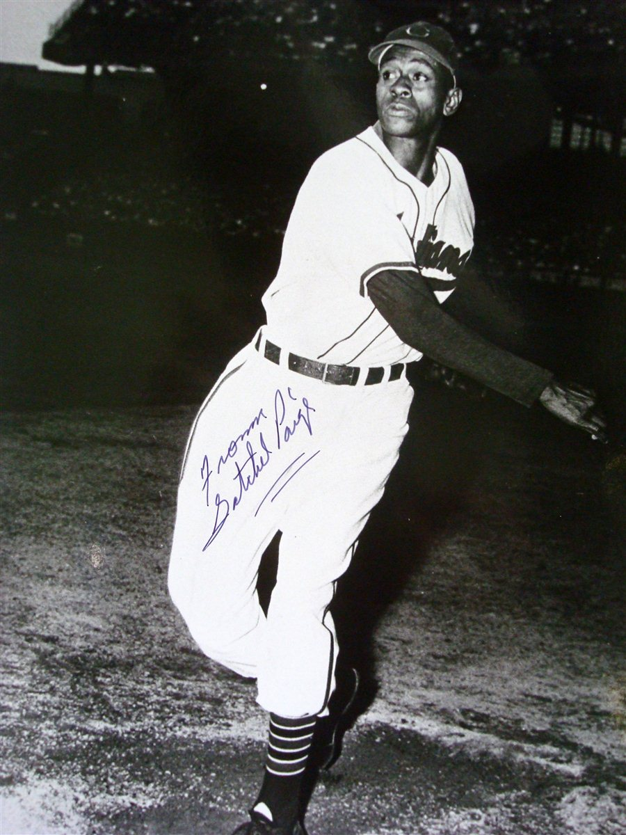 satchel paige On july 9, 1948, satchel paige transitioned from the negro leagues to major league baseball.