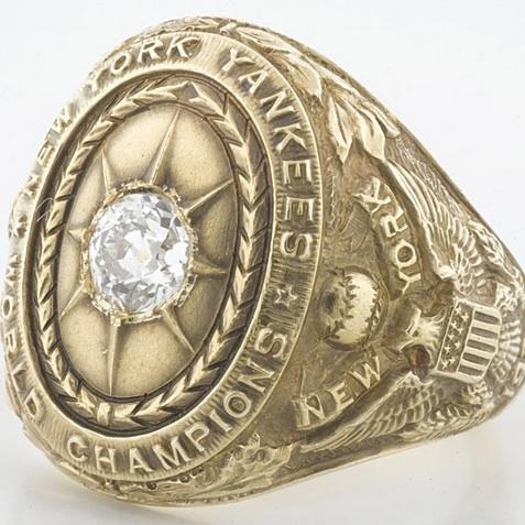 1927 New York Yankees World Series Ring