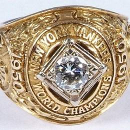 1950 New York Yankees World Series Ring