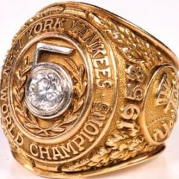 1953 New York Yankees World Series Ring