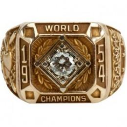1954 New York Giants World Series Ring