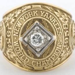 1958 New York Yankees World Series Ring