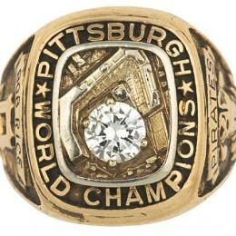 1960 Pittsburgh Pirates World Series Ring