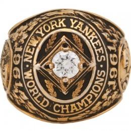 1961 New York Yankees World Series Ring
