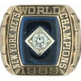 1969 New York Mets World Series Ring
