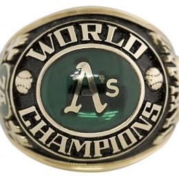 1974 Oakland Athletics World Series Ring