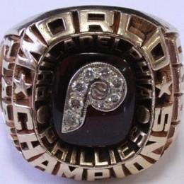 1980 Philadelphia Phillies World Series Ring
