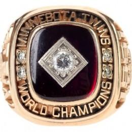 1991 Minnesota Twins World Series Ring