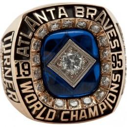 1995 Atlanta Braves World Series Ring