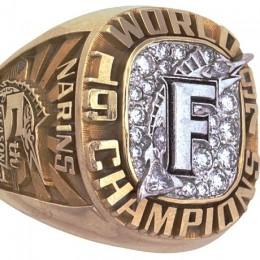 1997 Florida Marlins World Series Ring