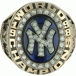 1998 New York Yankees World Series Ring