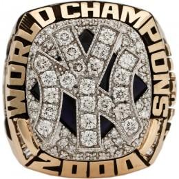 2000 New York Yankees World Series Ring 1