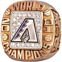 2001 Arizona Diamondbacks World Series Ring